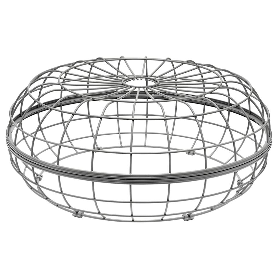 """<p>This steel <a href=""""https://www.popsugar.com/buy/Innersk%C3%A4r-Pouffe-Frame-571914?p_name=Innersk%C3%A4r%20Pouffe%20Frame&retailer=ikea.com&pid=571914&price=50&evar1=casa%3Aus&evar9=46226851&evar98=https%3A%2F%2Fwww.popsugar.com%2Fhome%2Fphoto-gallery%2F46226851%2Fimage%2F47540407%2FInnersk%C3%A4r-Pouffe-Frame&list1=shopping%2Cfurniture%2Cikea%2Csummer%2Csmall%20space%20living%2Chome%20shopping&prop13=api&pdata=1"""" rel=""""nofollow"""" data-shoppable-link=""""1"""" target=""""_blank"""" class=""""ga-track"""" data-ga-category=""""Related"""" data-ga-label=""""https://www.ikea.com/us/en/p/innerskaer-pouffe-frame-indoor-outdoor-70445376/"""" data-ga-action=""""In-Line Links"""">Innerskär Pouffe Frame</a> ($50) will last forever - all you have to do is replace its fabric covering!</p>"""
