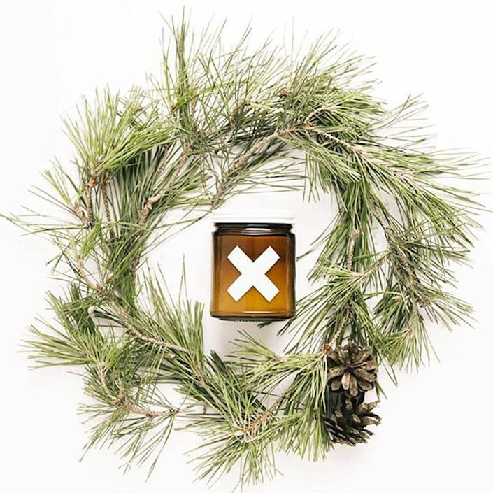"""<p>Holiday fanatics will love this festive blend of fresh pine, blue spruce, roasted rosemary, and fir needles in a rustic amber-hued votive.</p><br><br><strong>Wax Buffalo</strong> Evergreen Pure Soy Candle, 9 oz., $22, available at <a href=""""https://wax-buffalo.myshopify.com/collections/the-christmas-collection/products/fir-tree-9oz"""" rel=""""nofollow noopener"""" target=""""_blank"""" data-ylk=""""slk:Wax Buffalo"""" class=""""link rapid-noclick-resp"""">Wax Buffalo</a>"""