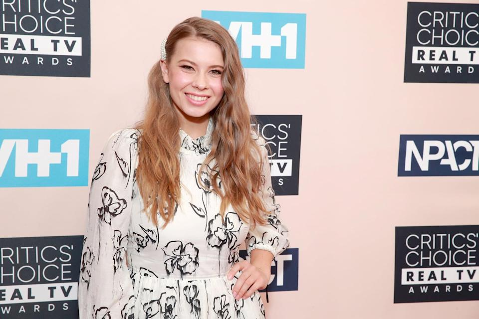 BEVERLY HILLS, CALIFORNIA - JUNE 02: Bindi Irwin attends the Critics' Choice Real TV Awards at The Beverly Hilton Hotel on June 02, 2019 in Beverly Hills, California. (Photo by Rich Fury/Getty Images)