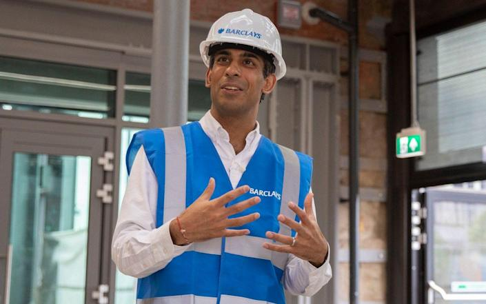 Rishi Sunak, visiting Scotland on Friday, refused to rule out tax rises