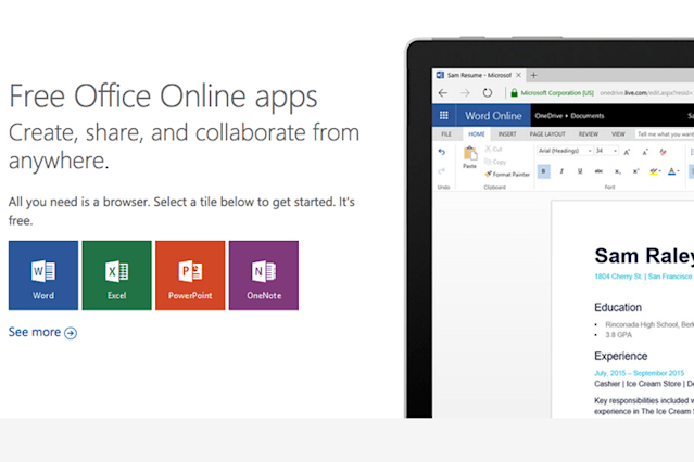 Paying is for suckers: Here's how to use Microsoft Office for Free