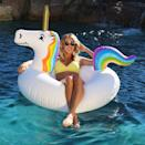 <p>This <span>GoFloats Unicorn Party Tube Inflatable Float</span> ($20) is at the top of our wish list.</p>