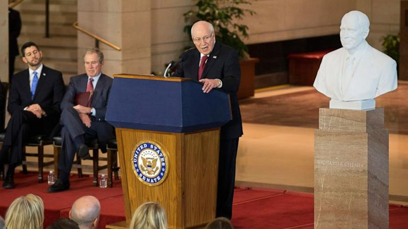 Dick Cheney Marble Bust Unveiled in US Capitol
