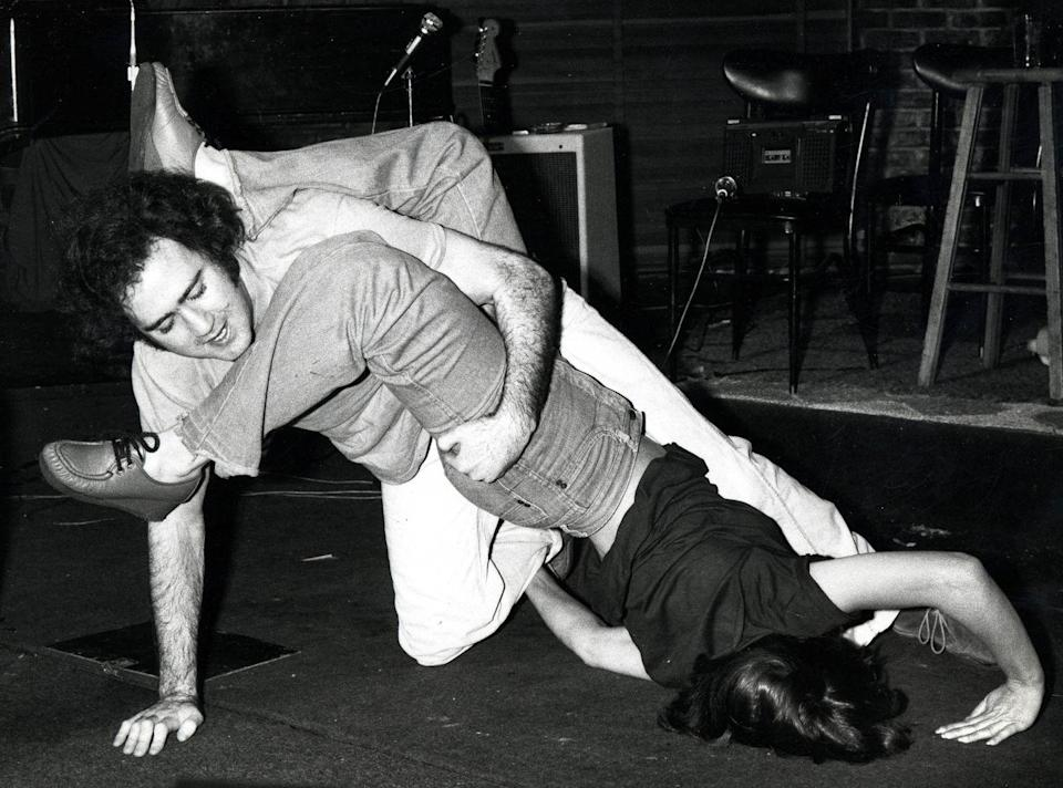 <p>Andy Kaufman during The Improv's 15th Anniversary Party at The Improv in Hollywood, California in 1978.</p>