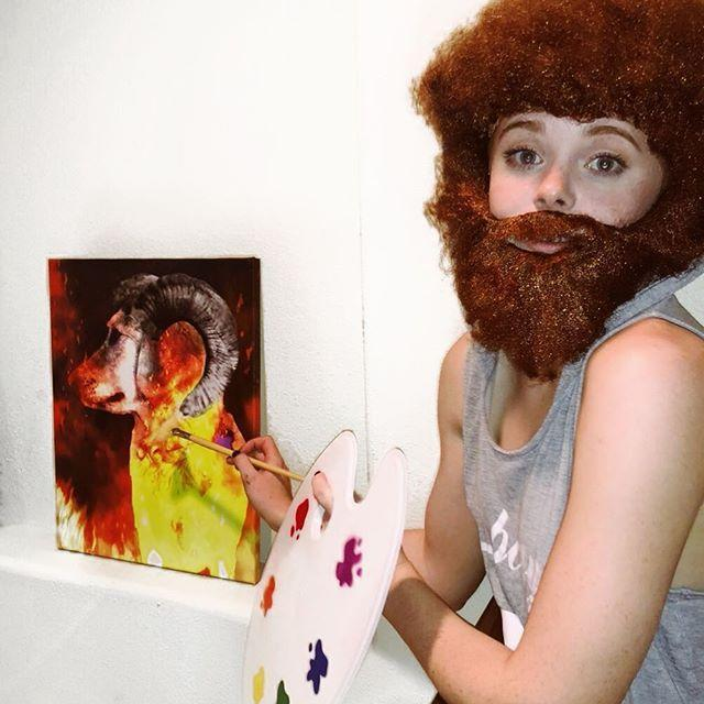 """<p>While you sit at home and put together your best DIY Bob Ross costume, remind yourself that there are no mistakes—only happy accidents. </p><p><a href=""""https://www.instagram.com/p/Bpmud23HyR4/?utm_source=ig_embed&utm_campaign=loading"""" rel=""""nofollow noopener"""" target=""""_blank"""" data-ylk=""""slk:See the original post on Instagram"""" class=""""link rapid-noclick-resp"""">See the original post on Instagram</a></p>"""