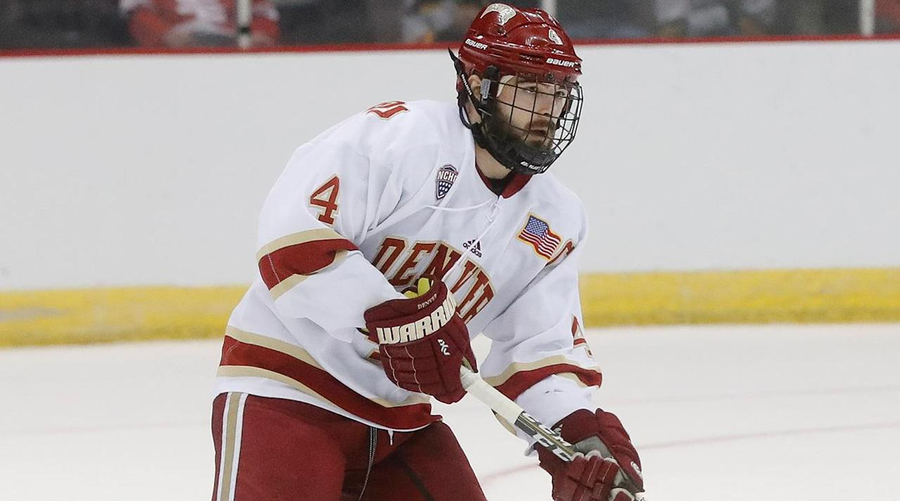 <p>EAST RUTHERFORD, N.J. (AP) Will Butcher believes he is ready to play for the New Jersey Devils right now.</p><p>A day after signing a two-year, $1.85 million contract with the rebuilding Devils, the 22-year-old Butcher said he was ready to make the jump from being college hockey's top player to the NHL without a stop in the minor leagues.</p><p>Speaking on a conference call, the defenseman said he chose to sign with New Jersey because he felt good after meeting coach John Hynes and he thought the Devils' up-tempo system best fit his game.</p><p>Butcher was drafted in the fifth round by the Colorado Avalanche in 2013 at the Prudential Center - the Devils' home rink. He became a free agent on Aug. 15 after failing to reach an agreement with Colorado, although the former University of Denver player said he knew by May he intended to test the free agent market.</p><p></p><p>After meeting with a number of teams, his decision came down to the Devils, Las Vegas, Buffalo and Los Angeles.</p><p>''It seemed like a great fit in how I wanted to play, and they saw me being in a better role with what they wanted to do there,'' Butcher said of choosing New Jersey. ''It kind of reminded me a little bit of how we were going to play with my college hockey.''</p><p>Butcher knows there will be competition to make the Devils' roster with veteran defensemen Andy Greene, Ben Lovejoy, John Moore and Brian Strait and youngsters Damon Severson, Steven Santini and Mirco Mueller on the roster.</p><p>''I think my game is NHL ready,'' Butcher said. ''I think there is always stuff to learn and to pick up. That's mostly the reason why I chose New Jersey, because I felt with coach Hynes (there) was the development and how they cater to guys and help you get ready for the NHL game.''</p><p>Butcher described himself as an offensive defenseman who can play defense.</p><p>''I am definitely more offensive than defensive,'' he said. ''I try to cater to my game in the sense of making smart decisions with the puck, joining the rush at the right opportunity and using my experience to help me play in the league that I want to play in.''</p><p>When asked what players would have a similar style to him he named Duncan Keith of the Blackhawks, Torey Krug of the Bruins and Greene.</p><p>''If I was fortunate to make the big team, he would be a great mentor to me, just because he does everything,'' Butcher said of Greene. ''He penalty kills, power play, all situations. He is a smart player, not necessarily the biggest guy, but he uses his abilities to defend well and play the game of hockey.''</p><p>Butcher could also help the Devils' power play, especially feeding the likes of Taylor Hall, Adam Henrique, Kyle Palmieri and Marcus Johansson and newcomer Nico Hischier, the Swiss-born center who was the No. 1 pick in the June draft.</p><p></p><p>''I might not be the fastest guy or biggest guy out there, but I like to pride myself that I think fast and use my brain to be fast, in a sense that I try to anticipate plays and just try to use my hockey smarts to help me be effective,'' Butcher said.</p><p>Besides helping Denver win the national championship this past season, Butcher won the Hobey Baker Award as the top collegiate player.</p><p>A Wisconsin resident, Butcher had seven goals and a team-high 30 assists in 43 games last season. He had 28 goals and 75 assists for 103 points in 158 games with the Pioneers.</p>