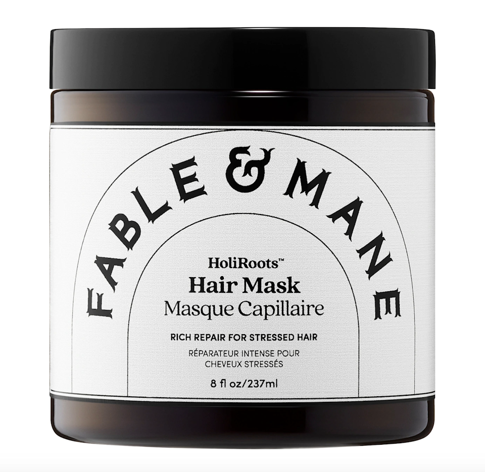 """<p>Siblings Akash and Nikita Mehta are behind Fable & Mane, a line aimed at strengthening hair while boosting shine, adding hydration, and maintaining scalp health. Through products like the <a href=""""https://shop-links.co/1736562329429708660"""" rel=""""nofollow noopener"""" target=""""_blank"""" data-ylk=""""slk:HoliRoots Hair Oil"""" class=""""link rapid-noclick-resp"""">HoliRoots Hair Oil</a>, you'll reap the benefits of Indian beauty secrets like <a href=""""https://www.allure.com/story/indian-hair-oiling-technique?mbid=synd_yahoo_rss"""" rel=""""nofollow noopener"""" target=""""_blank"""" data-ylk=""""slk:hair oiling"""" class=""""link rapid-noclick-resp"""">hair oiling</a> and achieve healthy, luscious hair that makes you feel <em>good</em>. The brand also actively donates to organizations that are fighting the extinction, hunting, and mistreatment around <a href=""""https://cna.st/affiliate-link/23mWWsNhhv5GNh7GmftpJqTcQH5m7BB34MgD4Y2a1Q7bDbnBTCY89NafwXd2rcn9kAyTpLiZvjvWwuTxB3jPxnrA?cid=6061ff1aee1a6fe2ff4b2926"""" rel=""""nofollow noopener"""" target=""""_blank"""" data-ylk=""""slk:endangered cheetahs"""" class=""""link rapid-noclick-resp"""">endangered cheetahs</a>.</p> <p><strong>Star Product:</strong> In just five minutes, the HoliRoots Hair Mask will transform dry, damaged hair for the better. <a href=""""https://www.allure.com/review/briogeo-be-gentle-be-kind-banana-coconut-nourishing-superfood-shampoo-and-conditioner?mbid=synd_yahoo_rss"""" rel=""""nofollow noopener"""" target=""""_blank"""" data-ylk=""""slk:Potassium-rich banana"""" class=""""link rapid-noclick-resp"""">Potassium-rich banana</a> strengthens <a href=""""https://www.allure.com/gallery/best-hair-masks-for-damaged-hair?mbid=synd_yahoo_rss"""" rel=""""nofollow noopener"""" target=""""_blank"""" data-ylk=""""slk:weakened hair"""" class=""""link rapid-noclick-resp"""">weakened hair</a>, while mango butter and coconut cream intensely hydrate and smooth, leaving you with that enviable shine that you see all over hair-product commercials. Oh, and it's great for all hair types.</p>"""