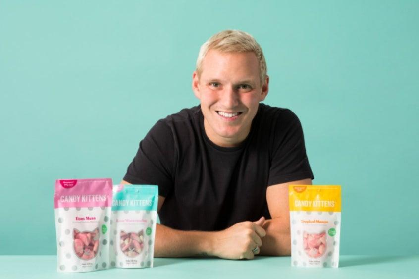 <p>Jamie Laing has spoken about navigating his business through a pandemic</p> (Candy Kittens/Handout)
