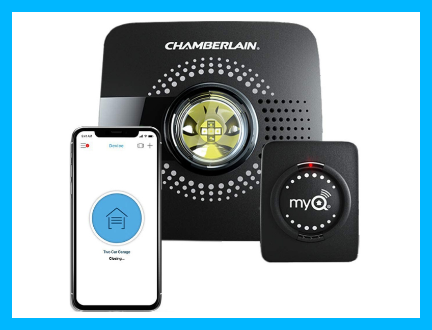 Your garage is about the get smart: Save 58 percent on the MyQ Smart Garage Door Opener. (Photo: Amazon)