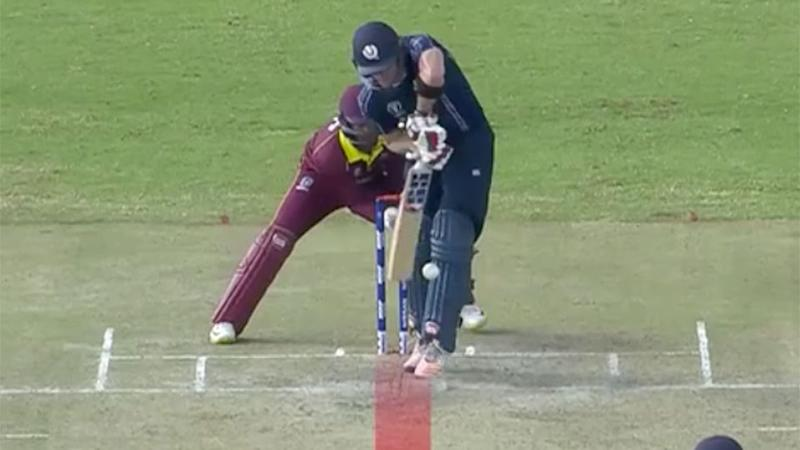 Out or not out? Pic: ICC