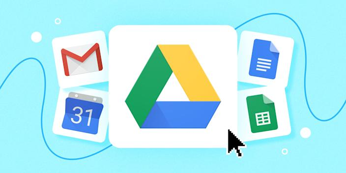 Google Drive is a modern-day hard drive.