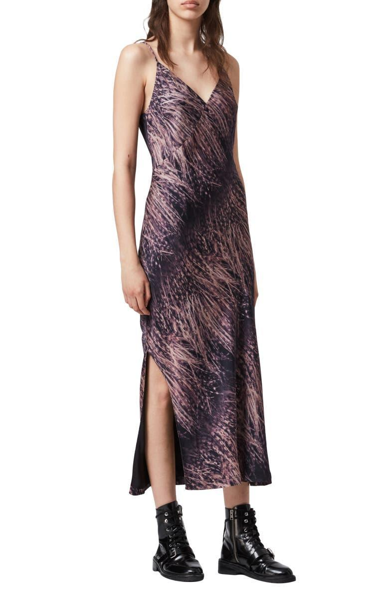 """<h2>AllSaints Melody Pembury Midi Slipdress</h2><br><strong>SOLD OUT (FOR NOW)</strong><br>This sweet little AllSaints slip number is finally back in stock for its sweet deal during the Anniversary Sale. Don't hesitate to add this midi dress onto your cart before you lose your chance. <br><br><em>Shop more <a href=""""https://go.skimresources.com?id=30283X879131&xs=1&url=https%3A%2F%2Fwww.nordstrom.com%2Fbrowse%2Fanniversary-sale%2Fall%3Fcampaign%3D0728publicgnpt1%26jid%3Dj012165-15573%26cid%3D00000%26cm_sp%3Dmerch-_-anniversary_15573_j012165-_-catpromo_corp_persnav_shop%26%3D%26postalCodeAvailability%3D10543%26filterByProductType%3Dclothing_dresses&sref=https%3A%2F%2Fwww.refinery29.com%2Fen-us%2Fnordstrom-anniversary-sale-best-sellers"""" rel=""""nofollow noopener"""" target=""""_blank"""" data-ylk=""""slk:Nordstrom Anniversary Sale dresses"""" class=""""link rapid-noclick-resp"""">Nordstrom Anniversary Sale dresses</a></em><br><br><strong>AllSaints</strong> Melody Pembury Midi Slipdress, $, available at <a href=""""https://go.skimresources.com/?id=30283X879131&url=https%3A%2F%2Fwww.nordstrom.com%2Fs%2Fallsaints-melody-pembury-midi-slipdress%2F5928616"""" rel=""""nofollow noopener"""" target=""""_blank"""" data-ylk=""""slk:Nordstrom"""" class=""""link rapid-noclick-resp"""">Nordstrom</a>"""