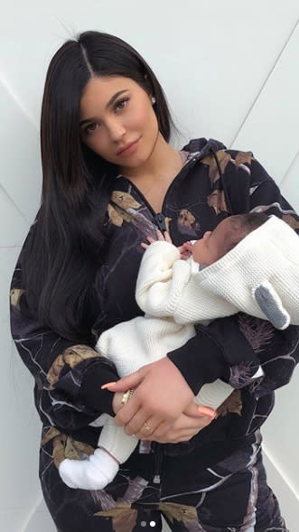 Stormi, Chicago, and Gio, these are some of the unique names given to the little ones born to famous parents this year. The Kardashian-Jenner family keeps growing and growing. Kim Kardashian and husband, Kanye West, welcomed their third child in January, via a surrogate. They named their daughter Chicago. The unusual moniker fits in just right with Kardashian's other kids, North and Saint. Kylie Jenner and Travis Scott also had a baby girl, and they also gave her a one-of-a-kind name — Stormi Webster. Jenner kept her pregnancy super hush-hush. She finally revealed she had a daughter on social media, sharing a picture of Stormi's hand wrapped around mom's finger. The photo has been liked over 17 million times on Instagram. It's already dethroned Queen Bey's twin announcement from last year, with just over 11 million likes. Talk about the power of the 'gram! Adam Levine and wife, Behati Prinsloo, had their second daughter — Gio Grace Levine. They welcomed their first child, Dusty Rose, in 2016. The most decorated Olympian of all time also had baby No. 2. That's right, Boomer is a big brother! Michael Phelps and wife, Nicole Johnson, added a son, Beckett Richard, to their growing family.