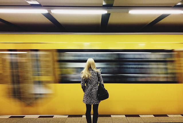 According to a survey, 31% of workers are anxious about commuting during the coronavirus pandemic. Photo: Getty