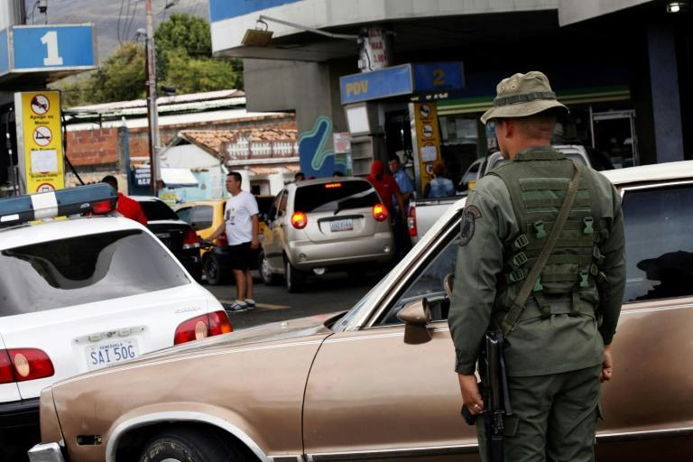 Venezuela's military control the country's gas stations -- taxi drivers complain that this gives soldiers moonlighting as drivers for extra cash an unfair advantage
