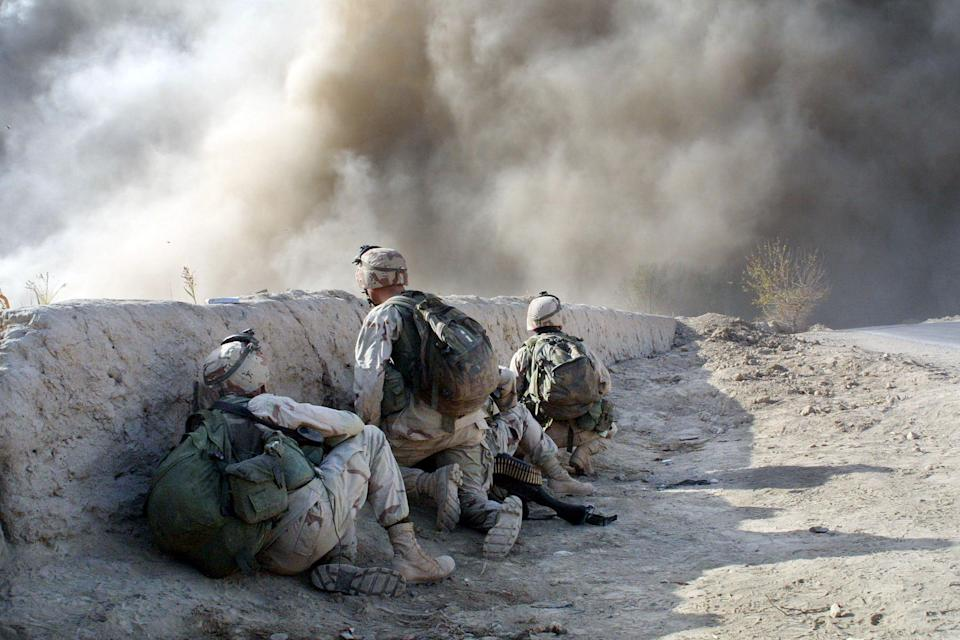 US troops first invaded Afghanistan in October 2001 (Getty Images)