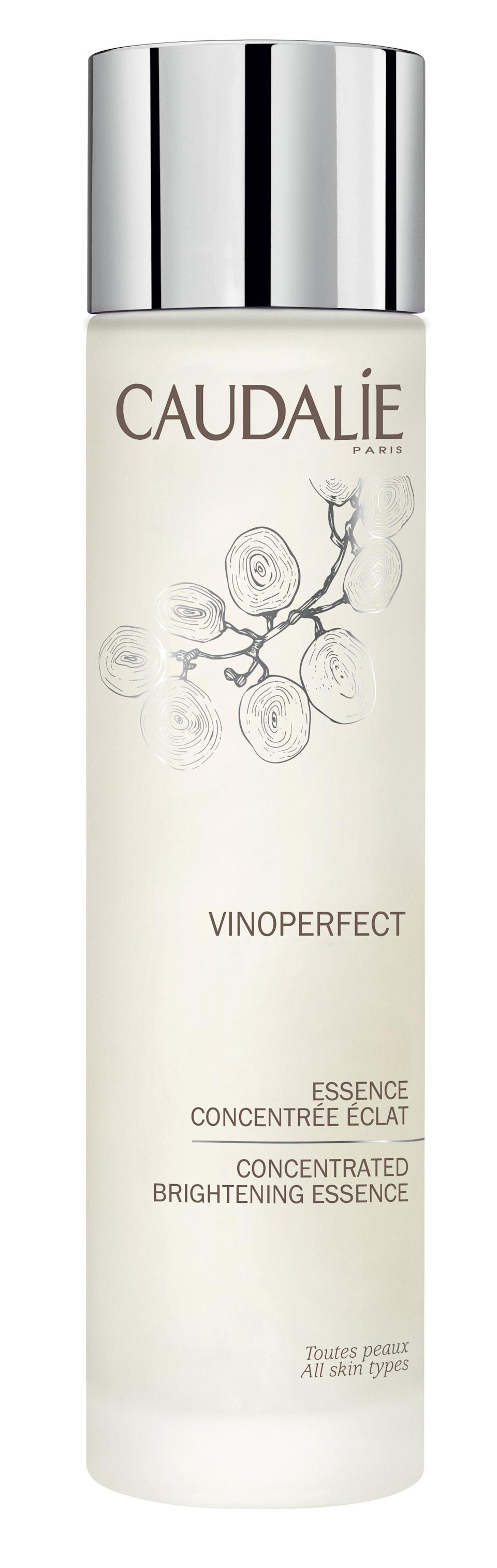 <p>If you're looking for something to fade dark spots or pigmentation, consider the <span>Caudalie VinoPerfect Concentrated Brightening Essence</span> ($54) the best first step before your serum. It helps prep the skin for the active ingredients, kind of like a peel helps your moisturizer work more effectively. (Don't worry, this doesn't peel your skin.) It includes glycolic acid, and white peony extract to help even out the complexion, plus the brand's signature grape water to soothe and moisturize.</p>