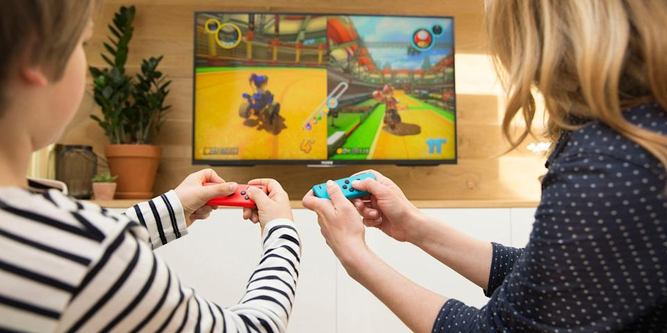 A number of studies show that there are some big benefits to those who play age-appropriate, collaborative games together.