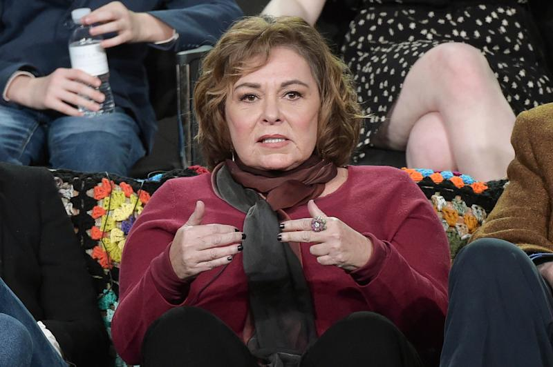 Roseanne Barr on January 8, 2018.