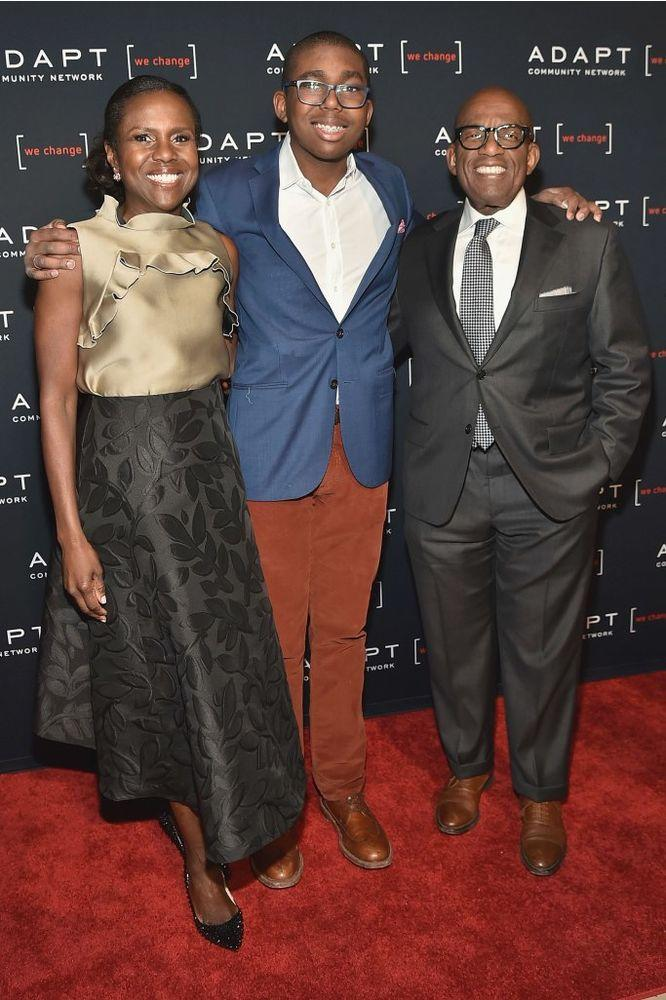 Deborah Roberts, Nicholas Roker, and Al Roker | Mike Coppola/Getty Images