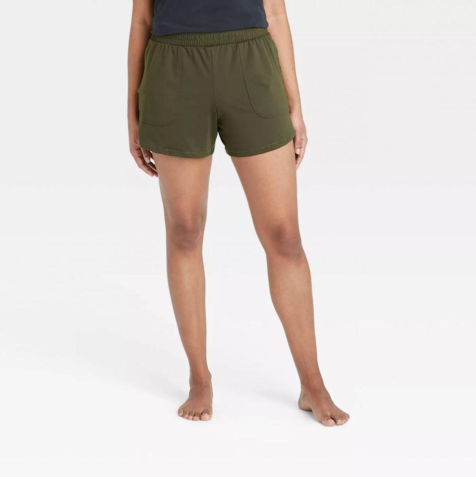 All in Motion Mid-Rise Knit Shorts