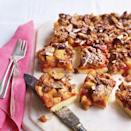 """<p>Try our delicious apple recipe for crumble bars, your favourite pudding revamped.</p><p><strong>Recipe: <a href=""""https://www.goodhousekeeping.com/uk/food/recipes/a535179/apple-crumble-bars/"""" rel=""""nofollow noopener"""" target=""""_blank"""" data-ylk=""""slk:Apple Crumble Bars"""" class=""""link rapid-noclick-resp"""">Apple Crumble Bars</a></strong></p>"""
