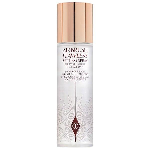 <p>If they're wearing makeup underneath their mask, they need this <span>Charlotte Tilbury Transfer-Proof Setting Spray</span> ($35).</p>