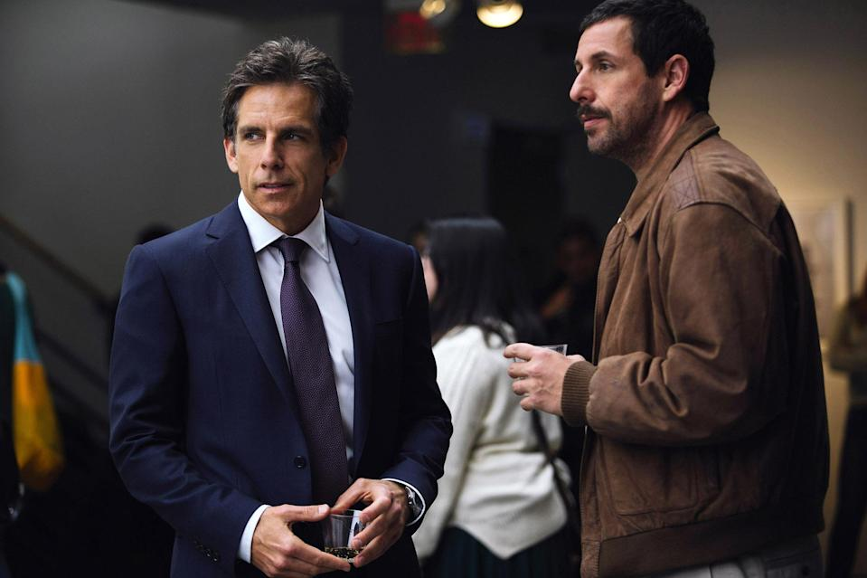 <p>A family tries to reconcile their actual lives with the stories they tell one another in Noah Baumbach's funny, deeply moving ensemble piece. Dustin Hoffman gives his best performance in years as Harold Meyerowitz, an aging artist in denial about his legacy (or lack thereof), while Adam Sandler, as the oldest of Harold's three children, puts his other recent films in depressing perspective by reminding audiences that he can actually act. <em>— G.W. </em>(Photo: Everett Collection) </p>