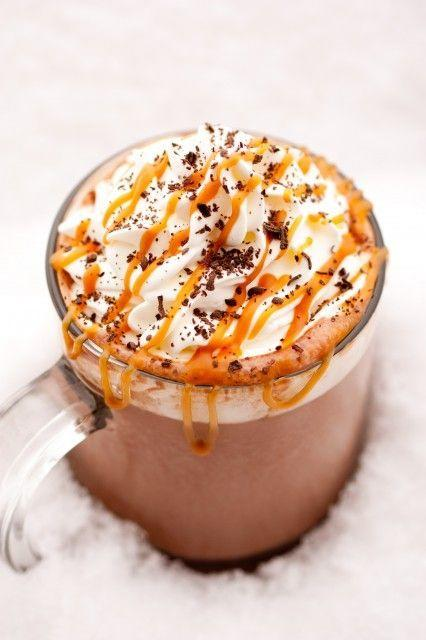 Caramel Hot Chocolate Switch up your classic creamy hot chocolate with the addition of decadent caramel. Try the Caramel Hot Chocolate.(Photo: Courtesy of Cooking Classy).
