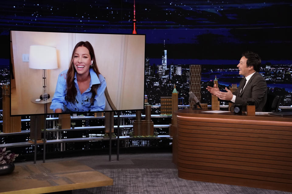 The actress appeared on The Tonight Show Starring Jimmy Fallon. (Getty Images)