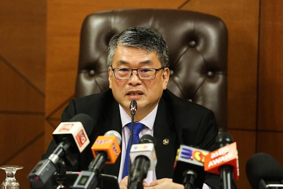 William Leong said the objections and concerns raised by the public over Kidex are essentially the same for the PJD Link project, and that rebranding Kidex by another name cannot address their concerns. — Picture by Yusof Mat Isa