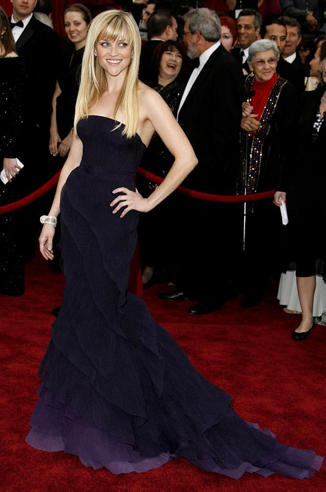 """Reese Witherspoon at <a href=""""/the-79th-annual-academy-awards/show/40213"""">The 79th Annual Academy Awards</a>."""