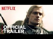 "<p>""Gory, sexy, and ludicrous,"" as<em> Vanity Fair</em> <a href=""https://www.vanityfair.com/hollywood/2019/12/the-witcher-review-netflix-henry-cavill"" rel=""nofollow noopener"" target=""_blank"" data-ylk=""slk:put it"" class=""link rapid-noclick-resp"">put it</a>, <em>The Witcher </em>stars Henry Cavill as said witcher, a magical monster hunter who makes time for hot and heavy bedding of a quarter-elf sorceress (Anya Chalotra)... in case that's your kind of kink.</p><p><a href=""https://www.youtube.com/watch?v=ndl1W4ltcmg"" rel=""nofollow noopener"" target=""_blank"" data-ylk=""slk:See the original post on Youtube"" class=""link rapid-noclick-resp"">See the original post on Youtube</a></p>"