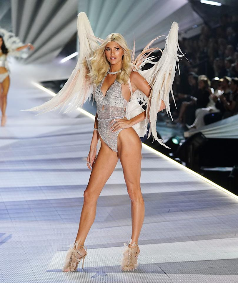 "As both individuals and media no longer accept conventional portrayals of beauty as the only standard, Victoria's Secret had its share of bad press—although some 2019 headlines seemed to move in a more positive and inclusive direction. The lingerie brand announced it would be <a href=""https://www.glamour.com/story/victoria-sampaio-first-transgender-victorias-secret-model?mbid=synd_yahoo_rss"">working with a trans model for the first time</a> in August, and soon after shared the news that it had split with its former CMO Ed Razek, who came under fire for making remarks about <a href=""https://www.vogue.com/article/victorias-secret-ed-razek-monica-mitro-interview?mbid=synd_yahoo_rss"" target=""_blank"">trans</a> and <a href=""https://www.glamour.com/story/victorias-secret-fashion-show-body-diversity?mbid=synd_yahoo_rss"" target=""_blank"">plus-size models</a>. Also, in September during <a href=""https://www.glamour.com/story/victorias-secret-might-be-getting-a-brand-new-image?mbid=synd_yahoo_rss"">an investor meeting</a>, the brand shared a new direction for VS Pink that cast models of varying shapes and sizes. Ultimately, the biggest news of the year was <a href=""https://www.glamour.com/story/victoria-secret-fashion-show-reportedly-canceled?mbid=synd_yahoo_rss"">the cancellation of its annual Victoria's Secret Fashion Show</a>, an angel-wing-clad, push-up-bra-filled, often problematic spectacular. This signaled another shift for the brand that may continue to play out in 2020 as it navigates its future."