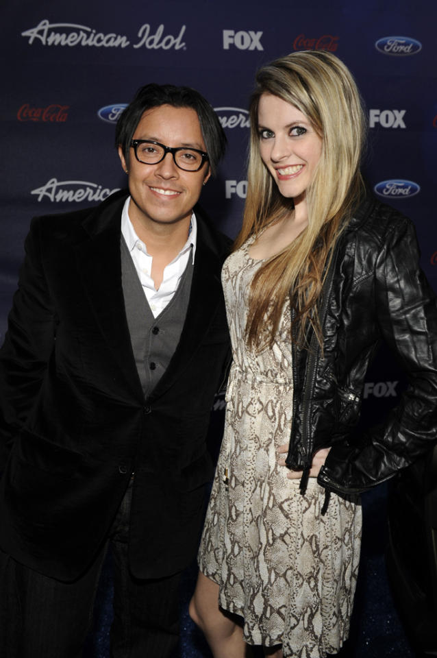 "Efren Ramirez of ""<a href=""http://tv.yahoo.com/napoleon-dynamite/show/46821"">Napoleon Dynamite</a>"" and his date attend the Season 11 ""<a href=""http://tv.yahoo.com/american-idol/show/34934"">American Idol</a>"" Top 13 Finalists Party on Thursday, March 1 at The Grove in Los Angeles, CA."