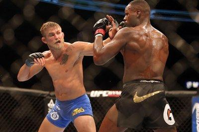 Alexander Gustafsson's bout with Jon Jones is considered 2013's Fight of the Year and one of the best fights of all-time. (Getty)