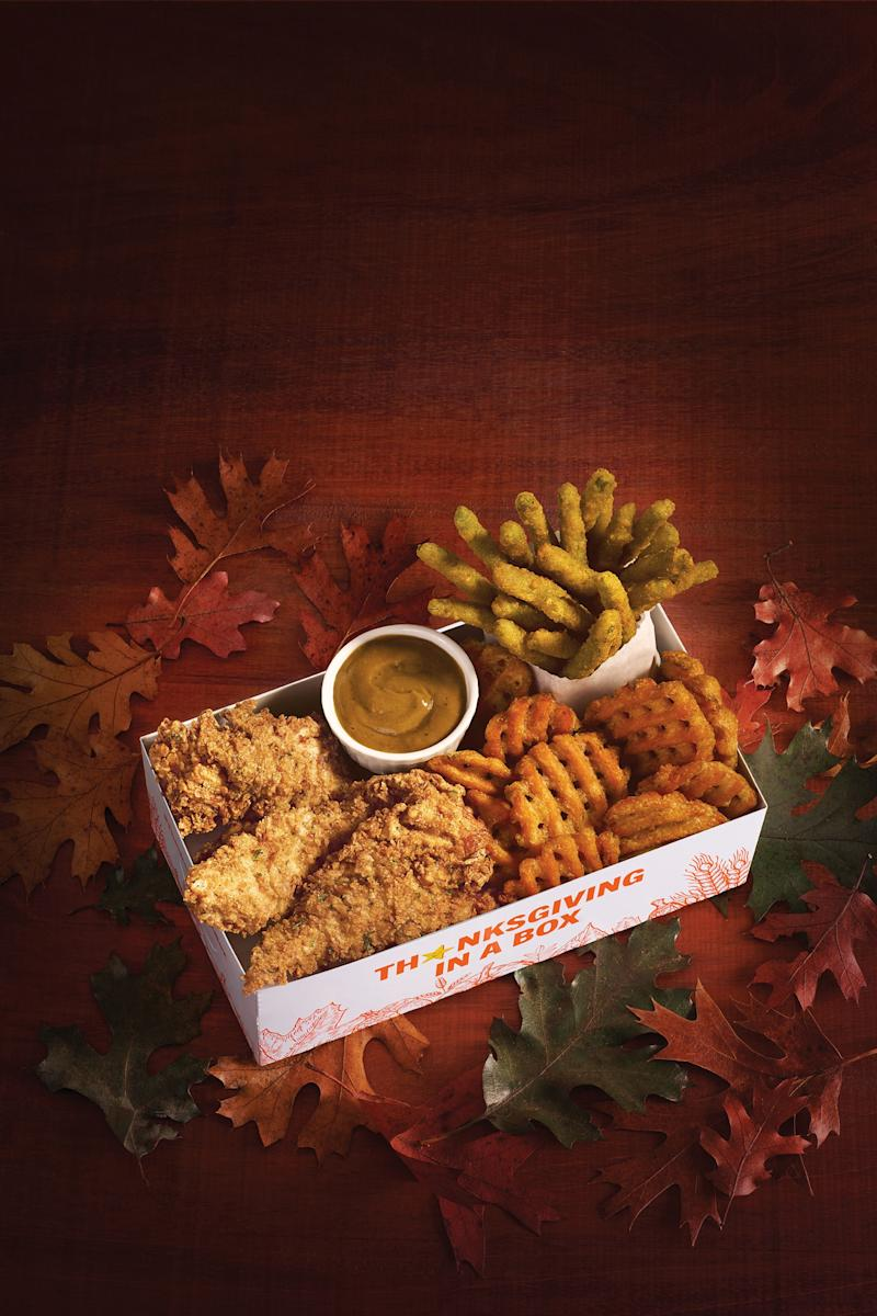 """Hardee's® Tests Seasonal Meals With First-Ever """"Thanksgiving in a Box"""""""