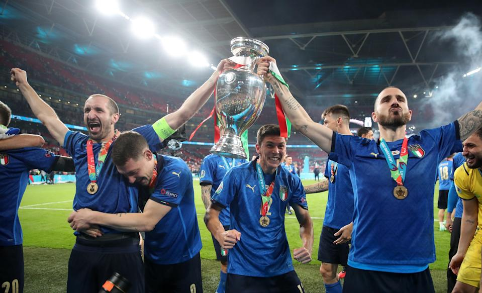Italy defeated England in the final (Nick Potts/PA) (PA Wire)