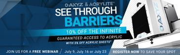 axyz-partners-with-acrylite-for-special-promotion-and-training-to-fight-covid-19:AXYZ PARTNERS WITH ACRYLITE® FOR SPECIAL PROMOTION AND TRAINING TO FIGHT COVID-19