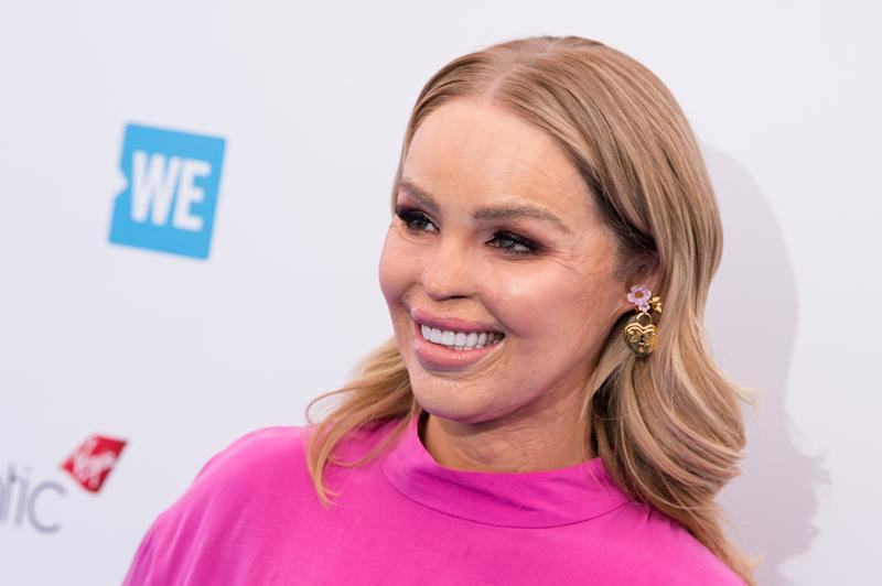 LONDON, ENGLAND - MARCH 07: Katie Piper attends 'We Day UK' at Wembley Arena on March 7, 2018 in London, England. (Photo by Jeff Spicer/Getty Images)