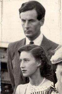 Princess Margaret and Peter Townsend in 1947.