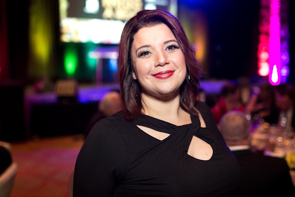 Ana Navarro, 49, was quick to reply to Donald Trump Jr.'s dig about obesity and COVID-19. (Photo: Greg Doherty/Getty Images)