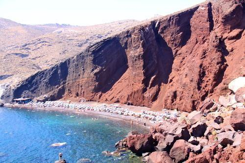Greece's Red Beach