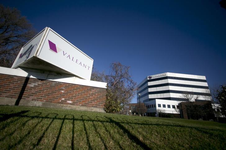 The headquarters of Valeant Pharmaceuticals International Inc. seen in Laval Quebec