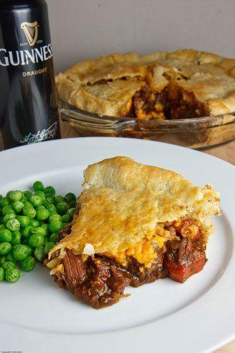 """<p>Pie crust is good no matter what the filling.</p><p>Get the recipe from <a href=""""http://www.closetcooking.com/2009/04/steak-and-guinness-pie.html"""" rel=""""nofollow noopener"""" target=""""_blank"""" data-ylk=""""slk:Closet Cooking"""" class=""""link rapid-noclick-resp"""">Closet Cooking</a>.</p>"""