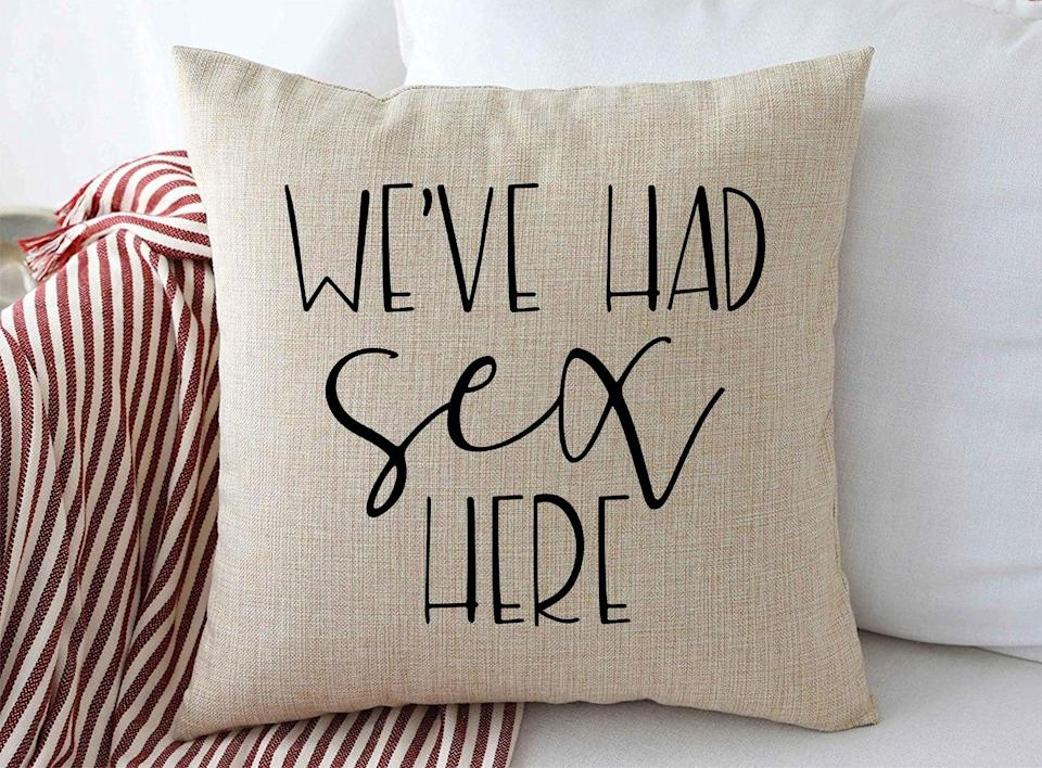 We've Had Sex Here Pillow