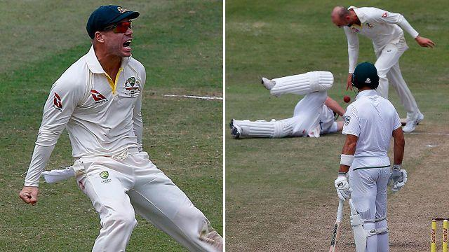 Warner and Lyon's actions motivated the Proteas. Image: Getty