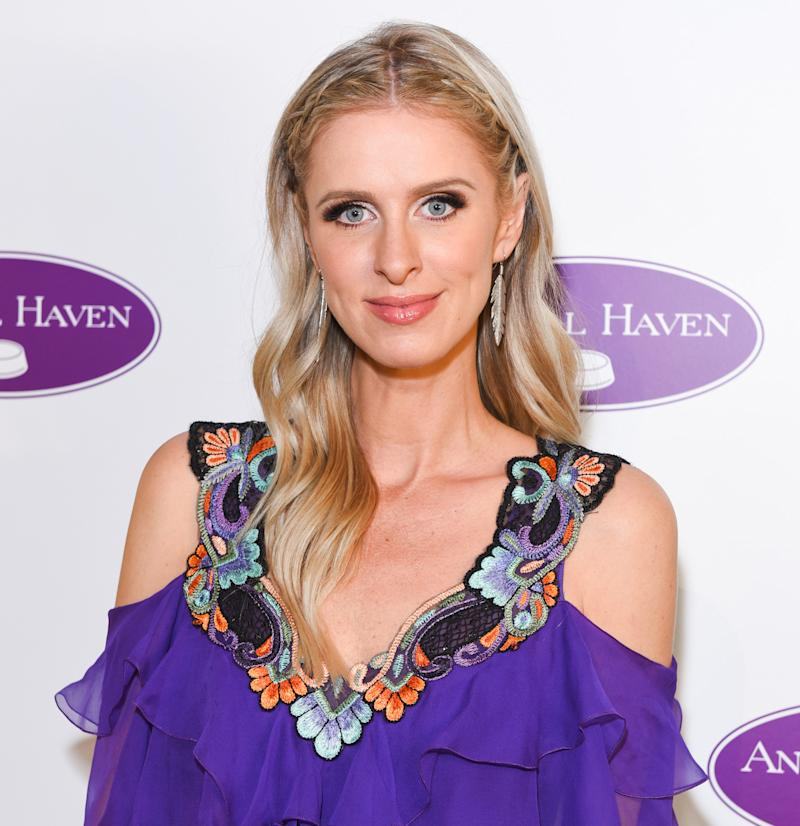 Pregnant Nicky Hilton Wears The Most Fabulous Pink Duster Coat In NYC