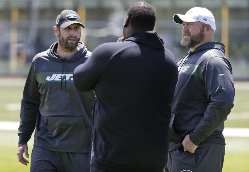 Jets GM Douglas 'fired up' to improve team before season