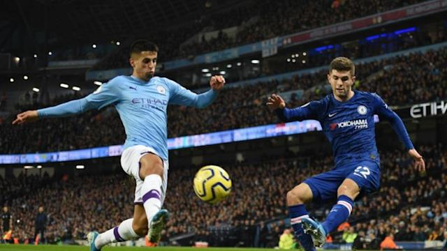 MANCHESTER CITY 2x1 CHELSEA (Foto: OLI SCARFF / AFP)